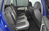Citroën C4 Grand Picasso rear seats