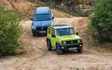 Suzuki Jimny vs. Toyota Land Cruiser