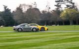 Porsche 992 911 vs. Porsche 959 - side