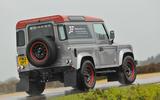 JE Motorworks Defender rear