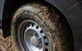 Toyota Land Cruiser long-term 2019 - muddy tyres