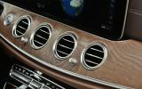 Mercedes-Benz E-Class air vents