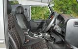 JE Motorworks Defender interior