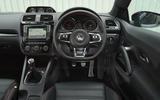 Volkswagen Scirocco GTS dashboard