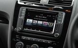 Volkswagen Scirocco GTS infotainmeny