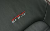 Volkswagen Scirocco GTS stitched seats
