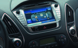 Hyundai ix35 Fuel Cell infotainment