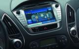 Hyundai ix35 Fuel Cell infotainment