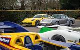 Porsche 992 911 vs. Porsche 959 - parked