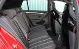 Volkswagen Golf GTI Clubsport Edition 40 rear seats