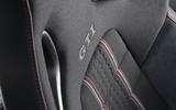 Volkswagen Golf GTI sports seats
