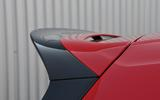 Volkswagen Golf GTI Clubsport Edition 40 rear spoiler