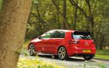 Volkswagen Golf GTI Clubsport Edition 40 rear