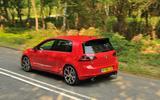 Volkswagen Golf GTI Clubsport top profile
