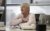 James Dyson looking pleased
