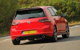 Volkswagen Golf GTI Clubsport Edition 40 rear cornering