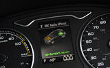 Audi A3 Sportback e-tron instrument cluster