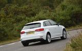 Audi A3 Sportback e-tron rear cornering