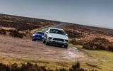 Porsche Macan vs Jaguar E-Pace 2019 - mud