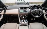 Porsche Macan vs Jaguar E-Pace 2019 - Jaguar interior