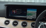 Mercedes E300 Coupe infotainment system