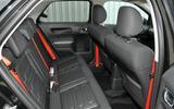 Citroen C4 Cactus Rip Curl rear seats