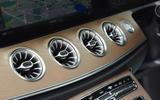 Mercedes E300 Coupe centre console