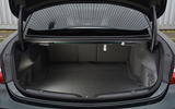 Mercedes E300 Coupe boot space