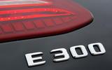 Mercedes E300 Coupe badging