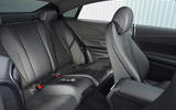 Mercedes E300 Coupe rear seats