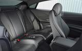 Mercedes E300 Coupe rear seats