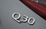 Infiniti Q30 badging
