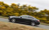Mercedes E300 Coupe side profile
