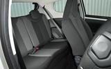 Citroen C1 rear seats