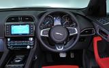 Jaguar F-Pace S dashboard