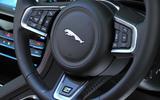 Jaguar F-Pace S steering wheel