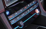Jaguar F-Pace S centre console
