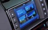 Jaguar F-Pace S infotainment screen
