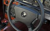 Mercedes 190E steering wheel