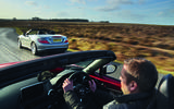 Mercedes-Benz SLK vs Mazda MX-5 RF: group test