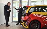 Sporty Mahindra e2o Tech X