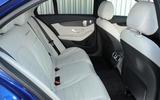 Mercedes-Benz C 350 e rear seats
