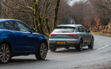 Porsche Macan vs Jaguar E-Pace 2019 - Porsche in lead