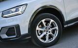 17in Audi Q2 alloy wheels