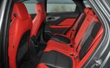 Jaguar F-Pace rear seats