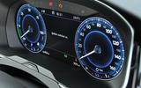 Volkswagen Passat GTE instrument cluster
