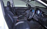 MG GS Exclusive DCT front seats