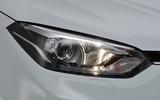 MG GS headlight