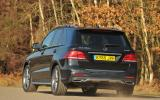 Mercedes-Benz GLE 350 d rear cornering