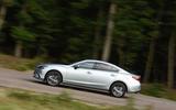 Mazda 6 cornering